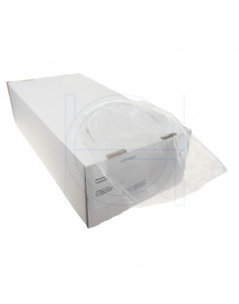 LDPE plastic bag 60 x 80cm, 50my, transparent