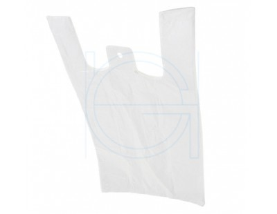Shopper bags HDPE 28x14x48cm, 2000pcs PE Film