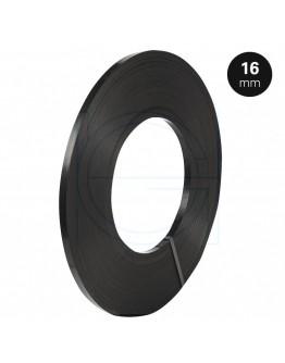 Staalband Enkelvoudig 16/0,5mm Zwart Gelakt