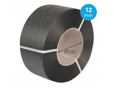 PP strapping black 12mm/0.55mm/3000m Strapping