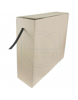 PP strapping 12/55 black dispenserbox