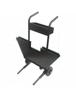 Mobile Steel strap cart