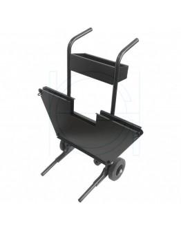 Mobile Steel strap cart
