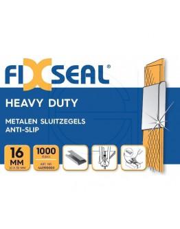 Metalen sluitzegels FIXSEAL Heavy duty KO 16mm, 1000st.