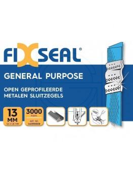 Metal seals FIXSEAL open profile 13 mm