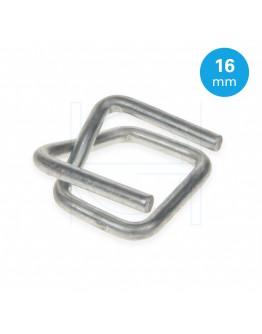 FIXCLIP metalen gespen 16mm, 1000st.