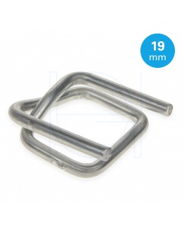 FIXCLIP Metal Buckles 19mm, 1000pcs