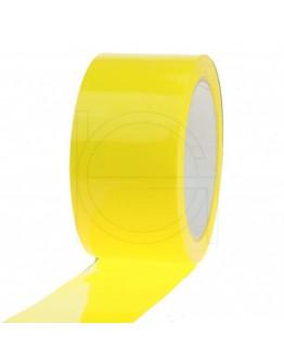 Geel verpakkingstape 50mm/66m PP acryl Low-noise