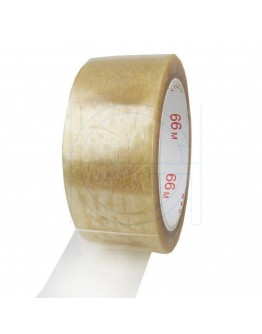 PVC solvent tape 48mm/66m transparent