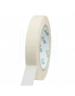 Masking tape Extra 19mm/50m 80°C