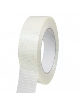 Filament tape 25mm/50m Ruit versterkt