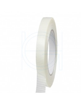 Filament tape 12mm/50mm Ruit versterkt
