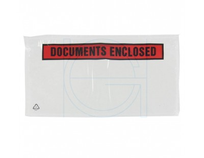 "Packing list ""Documents enclosed"" DL 1/3-A4 225x122mm 1000 pcs Labels"