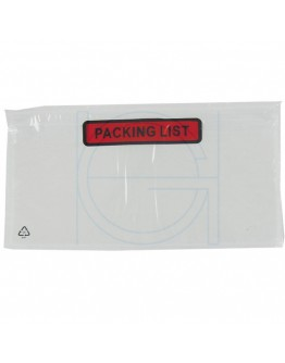 "Documenthoesjes ""Packing list""  DL 1/3-A4 225x122mm 1.000 Stuks"