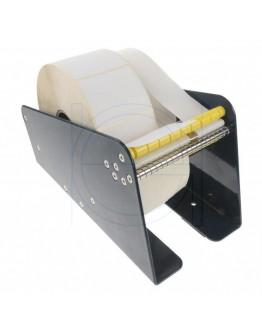 label dispenser metal 2-zones 115mm