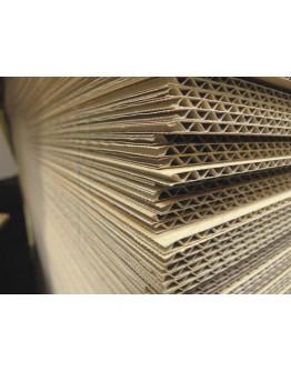 Kartonplaten 115 x 96 cm voor Blokpallet