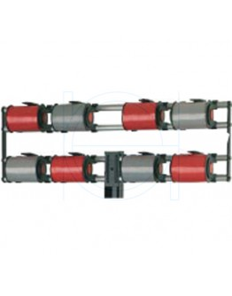 Vario attachment ribbon dispenser for 8 rolls