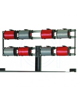 Vario adaptive ribbon dispenser for 8 rolls