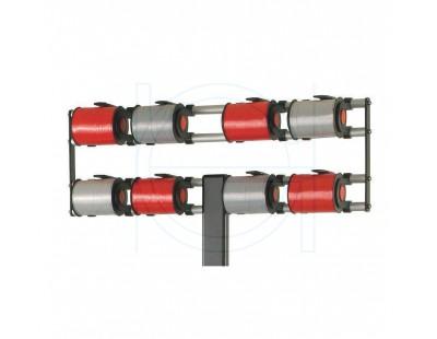 Vario adaptive ribbon dispenser for 8 rolls VARIO series Hudig + Rocholz