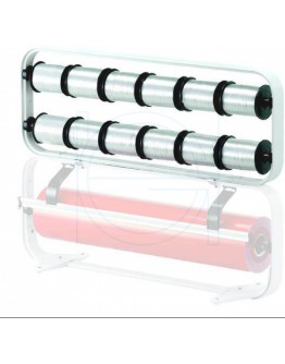 Ribbon dispenser H+R STANDARD for 12 rolls