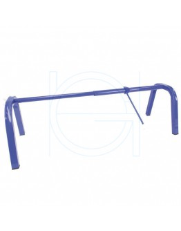 Multifunctional roll dispenser 40-100cm bleu