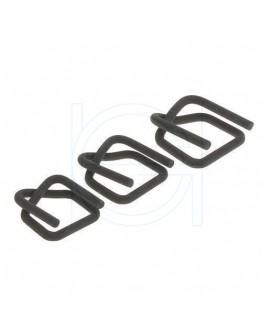 FIX CLIP metal buckles 13 mm, phosphated