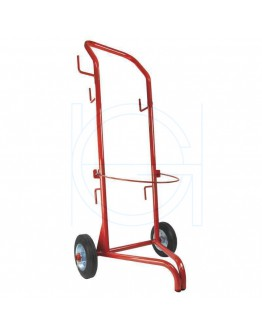 Gas bottle cart for schrinkgun