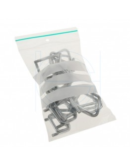 Grip seal bags 80x120mm writable