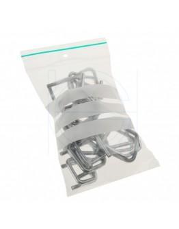 Gripzakken 80x120mm met schrijfvlak