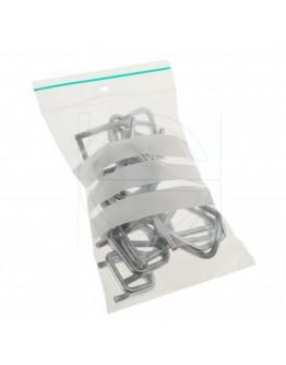 Grip seal bags 100x150mm writable