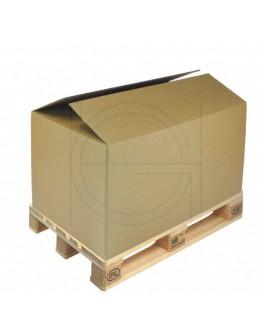 Cardboard Palletbox DG Europallet 1185x785x800mm