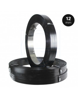 Steel Strapping A.W. 12/0,5mm Black-Painted