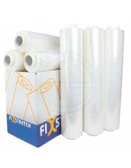 Wikkelfolie Fixstretch  19µ / 50cm / 300mtr transparant handrollen