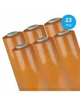 Hand stretch film Orange 23µ / 50cm / 270m