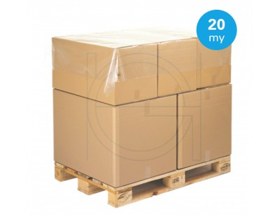 Topsheets- LDPE palletcovering 150 x 180cm, 20my PE Film