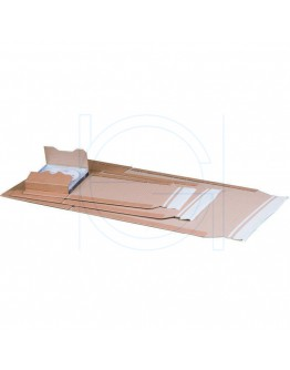 Book wrap cardboard 304 x 215 x (-) 74mm (A4)