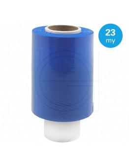 Bundelfolie blauw 23µ / 100mm / 150mtr