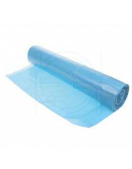 Afvalzakken blauw HDPE 70x110cm T25 - 500 stuks