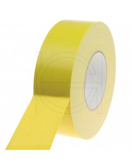 Duct tape Pro Gaffer Residue free Yellow 50mm/50m