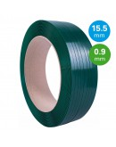 PET Strapping Green 15,5mm/0,90mm/1500m Strapping