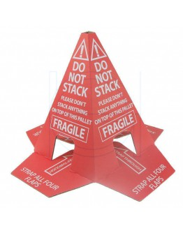 "Pallet cone ""Do not stack"""