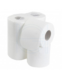 Toiletpaper FIX-HYGIËNE traditiona cellulose, 200 sheets per rol - 48 rolls