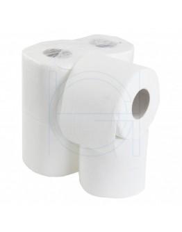 Toiletpapier FIX-HYGIËNE traditioneel cellulose, 200 vel per rol - 48 rol