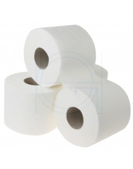 Toiletpaper FIX-HYGIËNE traditiona cellulose, 400 sheets per rol - 40 rolls