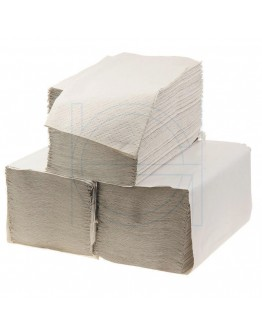 Paper towel FIX-HYGIËNE Z-fold natural, 23x25cm - Box 20 pack