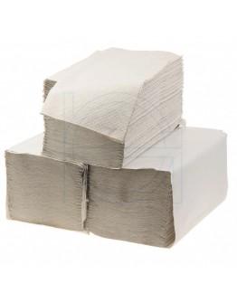 Handdoekjes FIX-HYGIËNE Z-vouw naturel, 23x25cm - Doos met 20 pakken