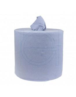 Towel paper rolls  FIX-HYGIËNE Midi blue heavy, 300m - 6 rolls