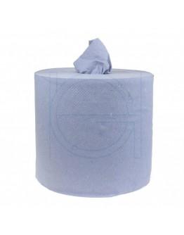 Handdoekrol FIX-HYGIËNE Midi blauw zwaar, 300m - 6 rollen