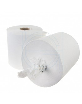 Handdoekrol FIX HYGIËNE Midi recycled tissue wit, 20 cm breed- 6x300m