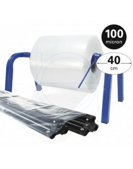 Tube film role 100µ, 40cm x 336m roll